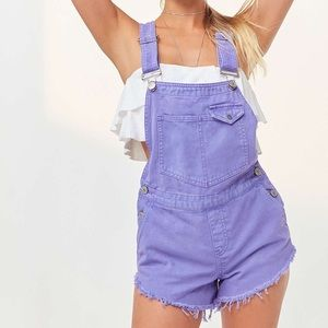 PURPLE SHORTALL OVERALL